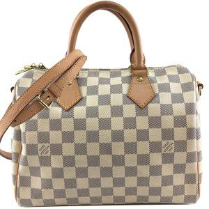 Speedy with Strap 25 Bandouliere Top Handle